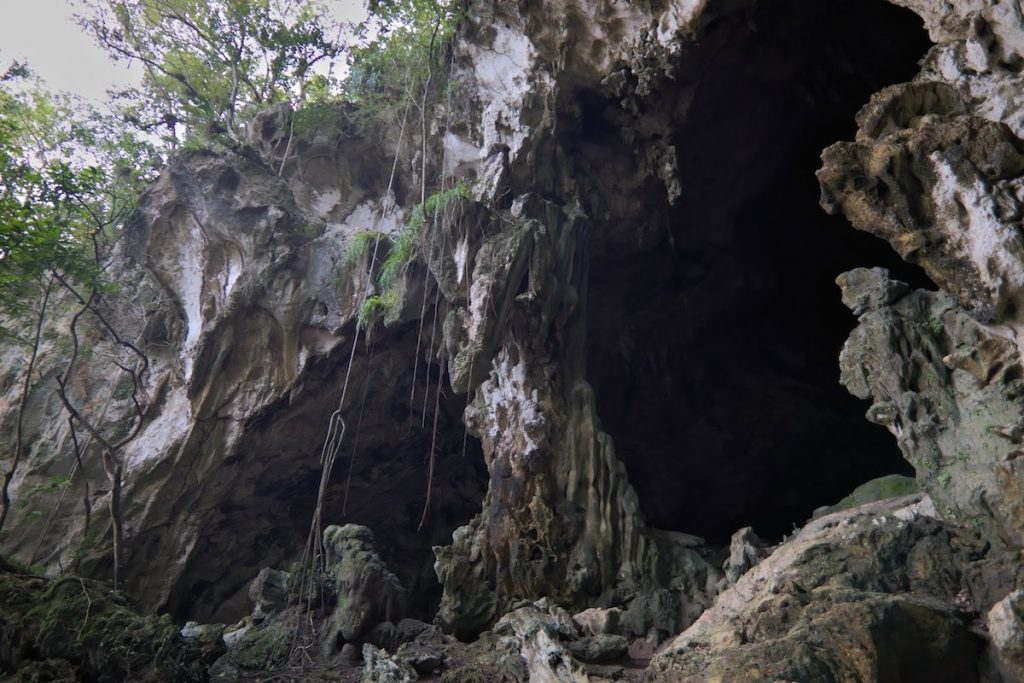 Höhle im Los Haitises