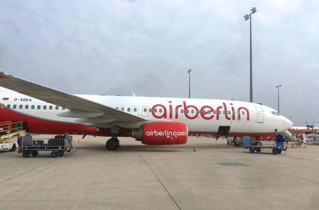 Air Berlin Insolvent keine Reise