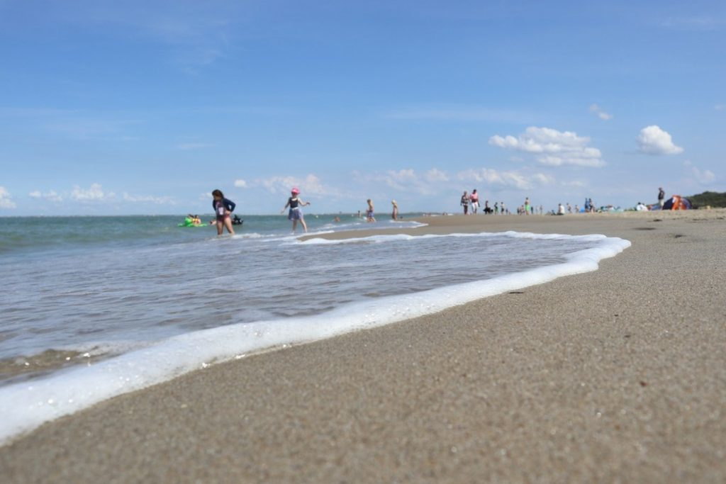 Toller Strand in Renesse