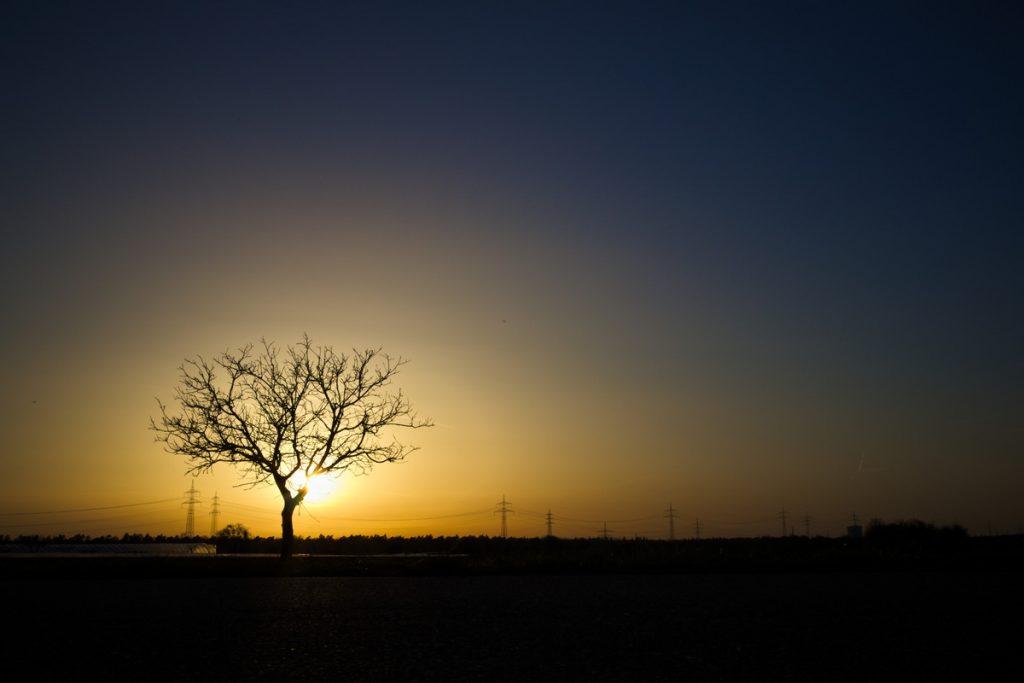 Unsere schönsten Reisefotos Sonnenuntergang