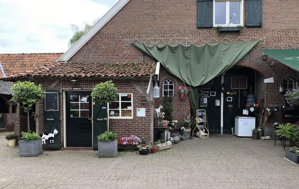 Wochenende in Winterswijk Ziegenkäse