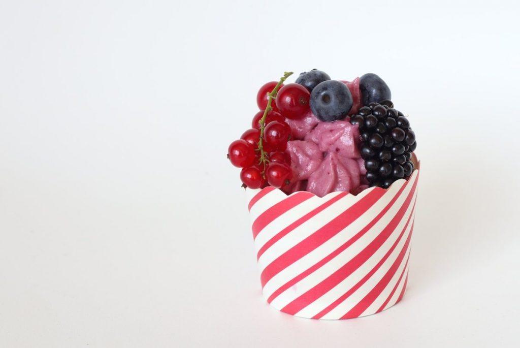Cupcakes mit Beeren