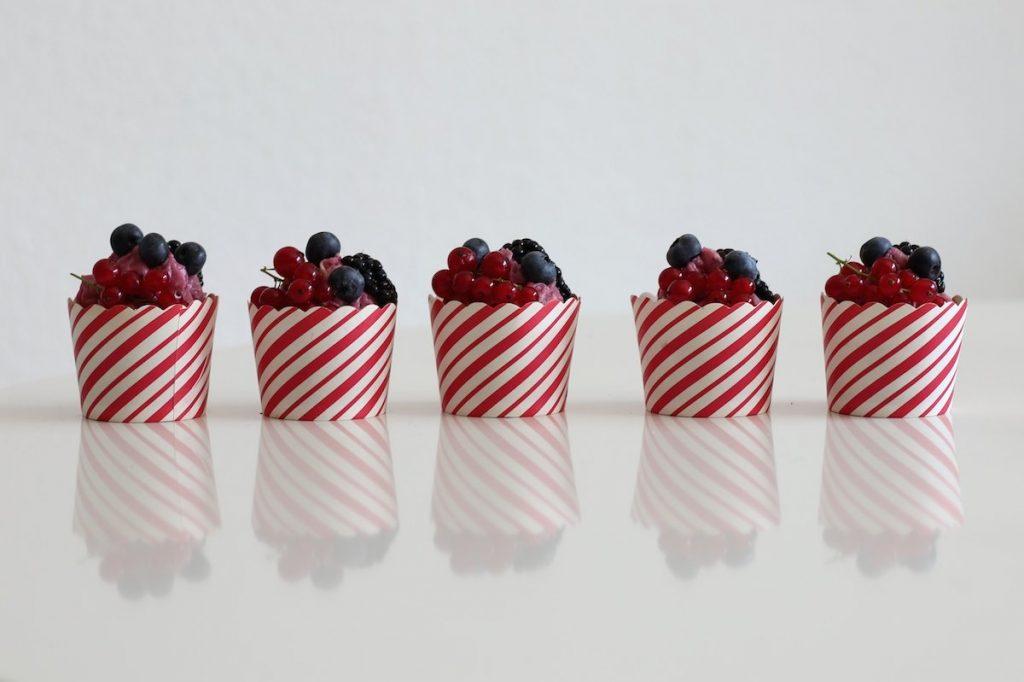 Sommer Kuchen Cupcakes