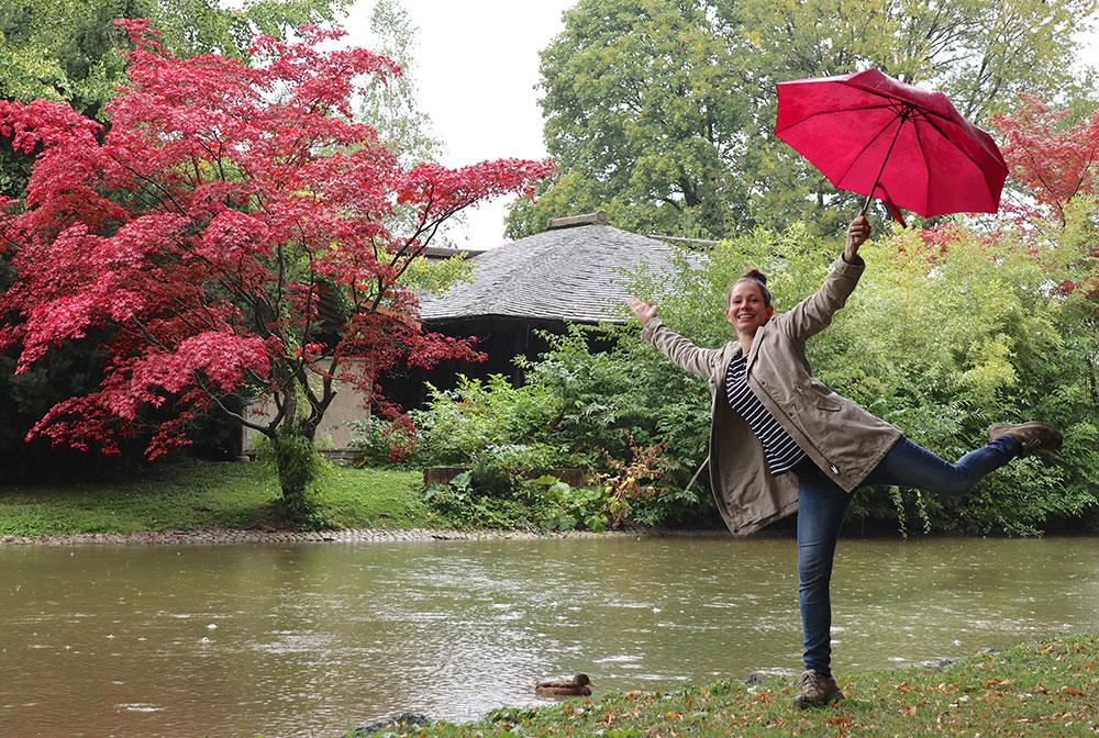 München zu Fuß erkunden Japanisches Teehaus