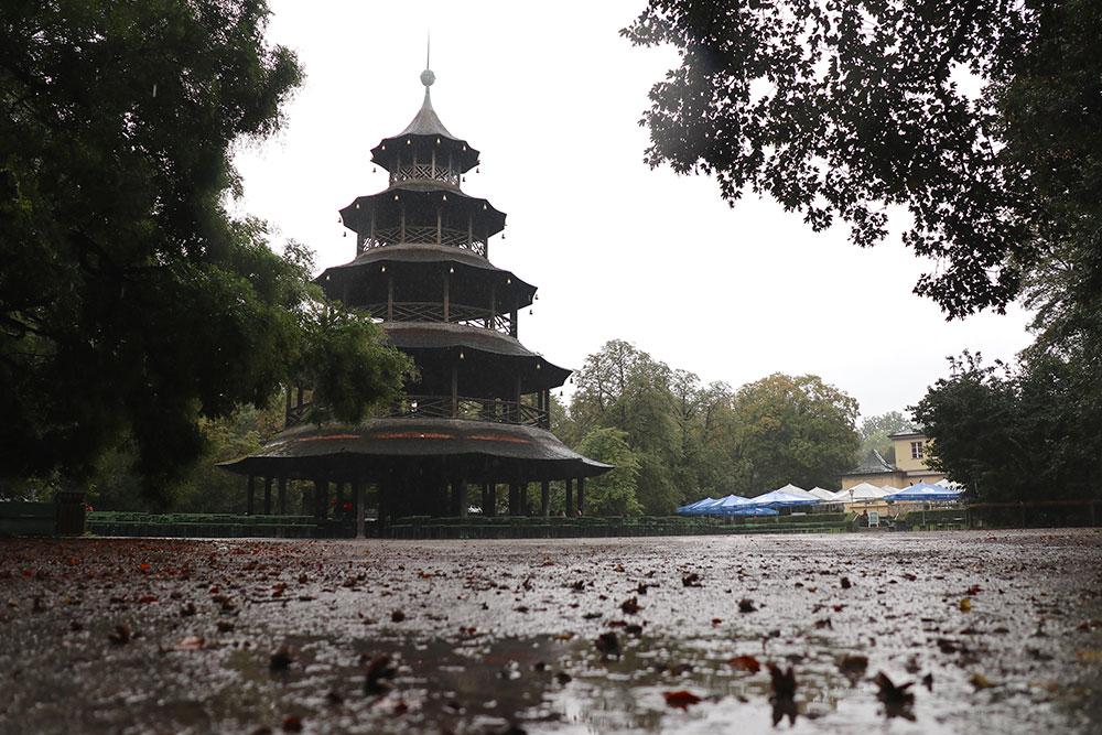 München zu Fuß erkunden Englischer Garten