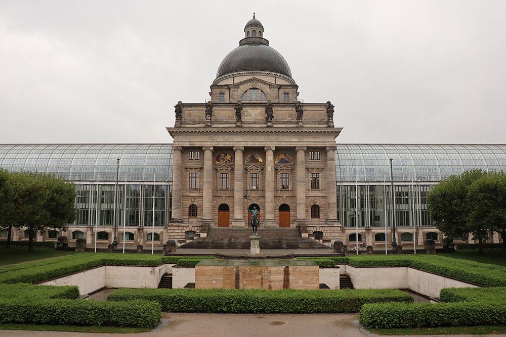München zu Fuß erkunden Residenz