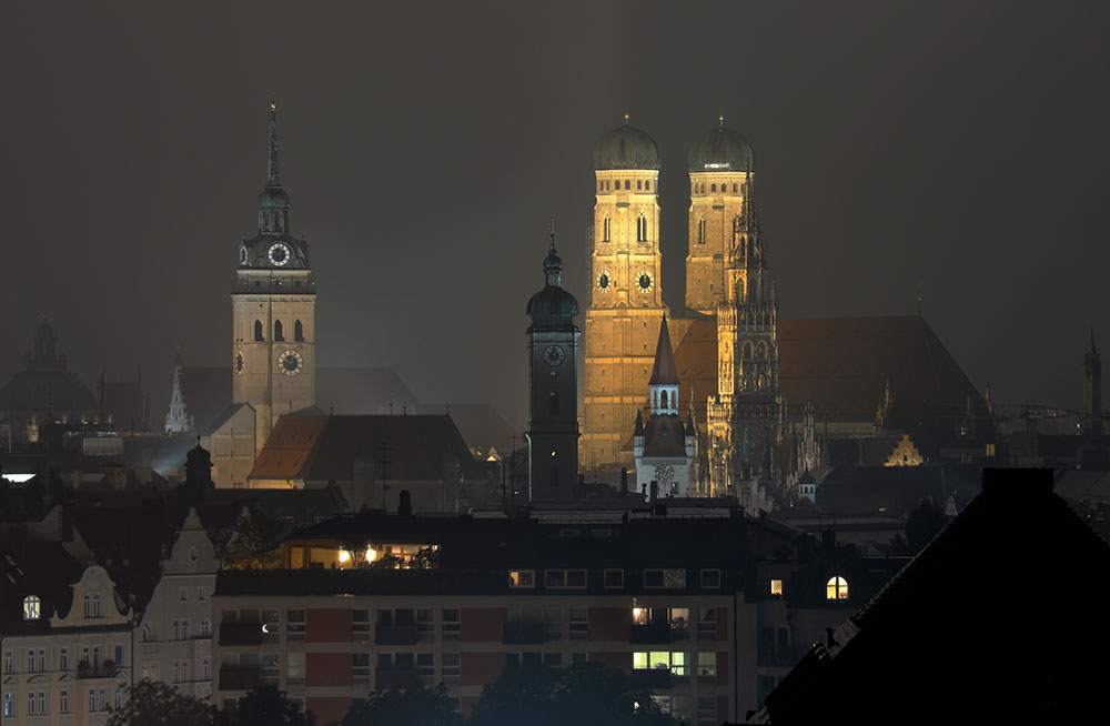 Holiday Inn Blick über München