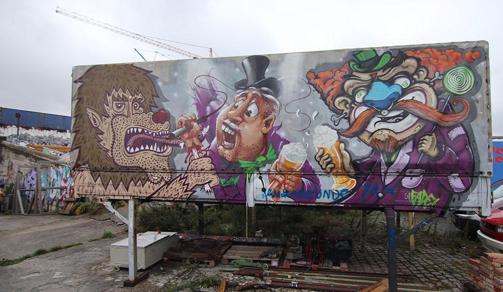 Street Art München Schlachthof