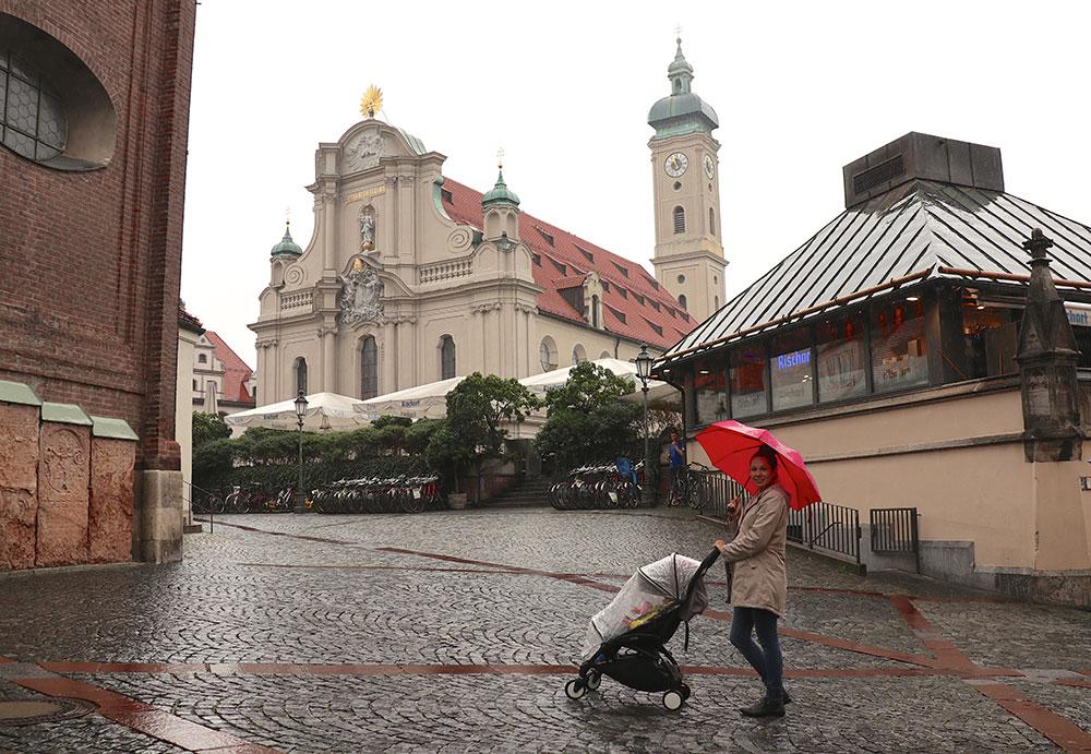 München zu Fuß erkunden Routen