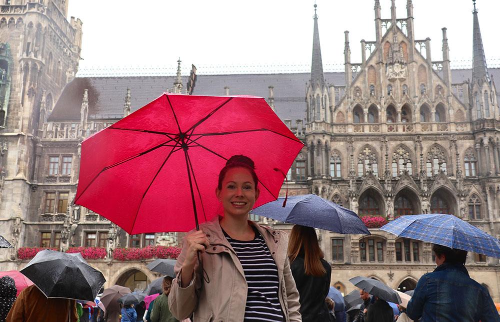 München zu Fuß erkunden Marienplatz