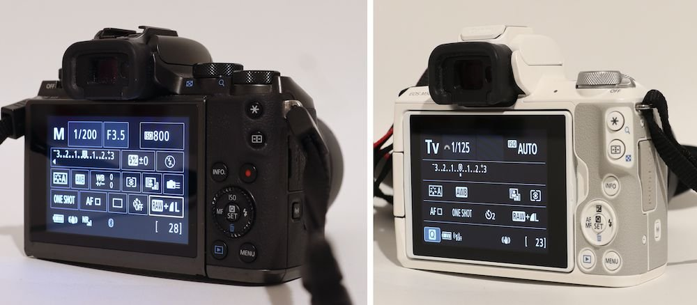 Canon EOS M5 oder Canon EOS M50 M Serie