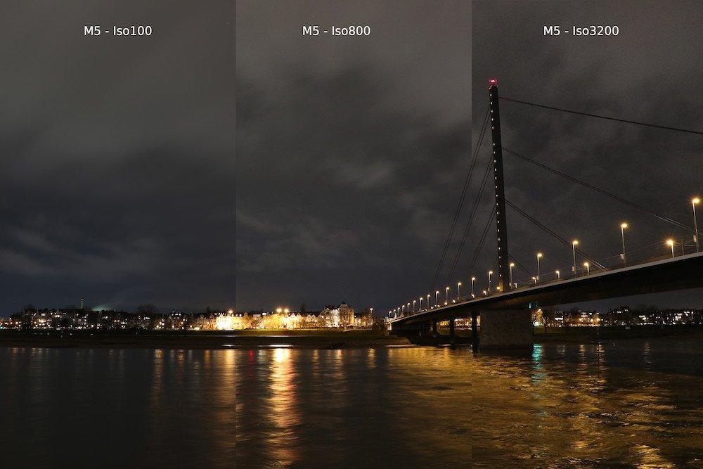 Canon EOS M5 oder Canon EOS M50 ISO Rauschen