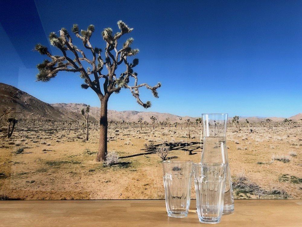 Glasbild als Urlaubserinnerung