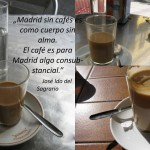 Café in Madrid