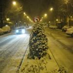 Madrid erstarrt im Schnee