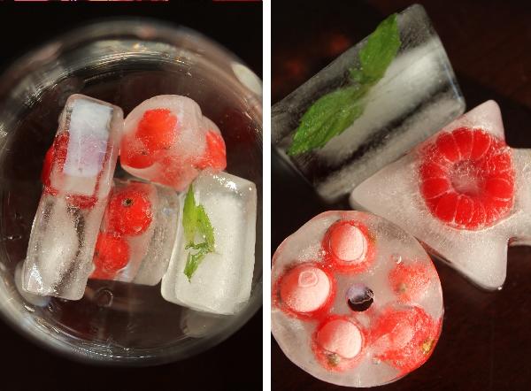 Eiswürfel mit Beeren und Minze: Perfekte Sommer-Erfrischung