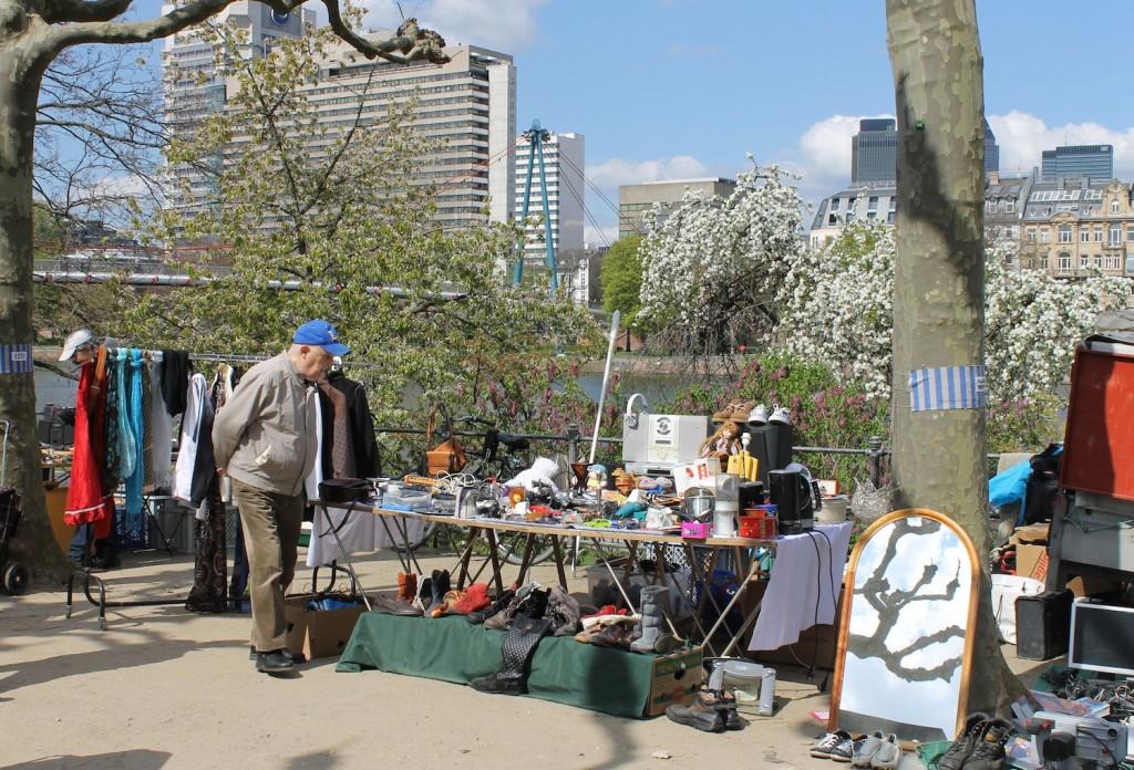 Flohmarkt in Frankfurt