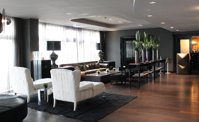 Roomers design hotel lobby webundwelt for Frankfurt design hotels