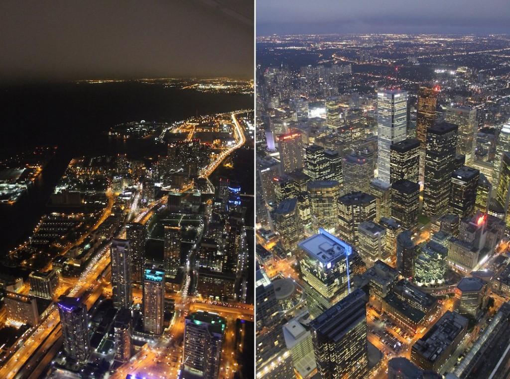 Aussicht CN Tower