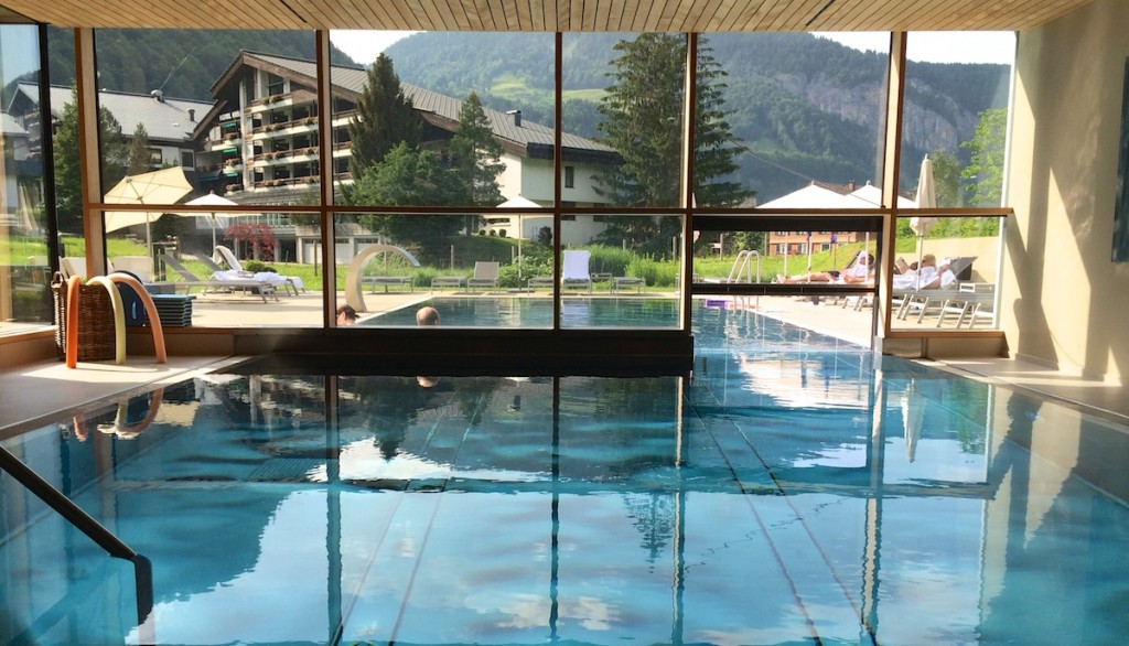 Pool Sonne Mellau