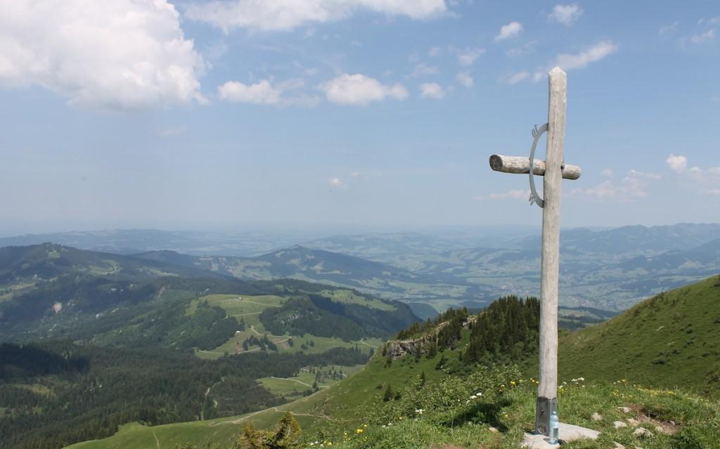 Gipfelkreuz auf dem Leuenkopf