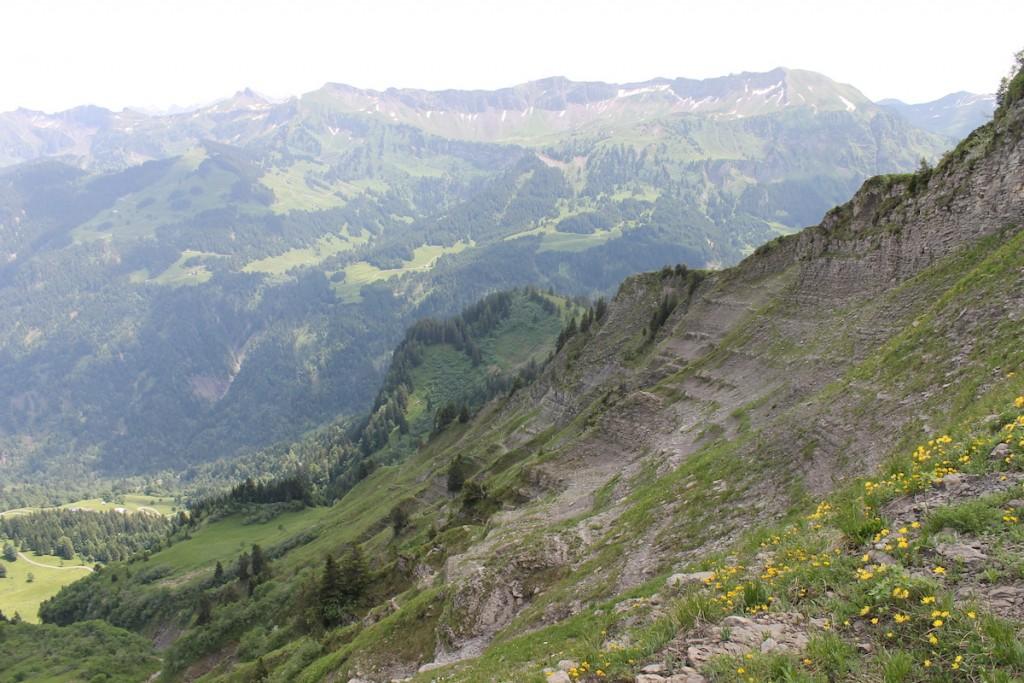 Geröll am Berghang