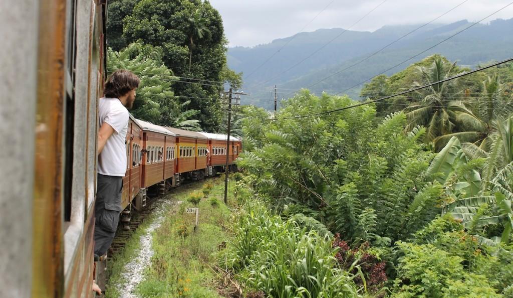 Zug Sri Lanka_Haare im Wind