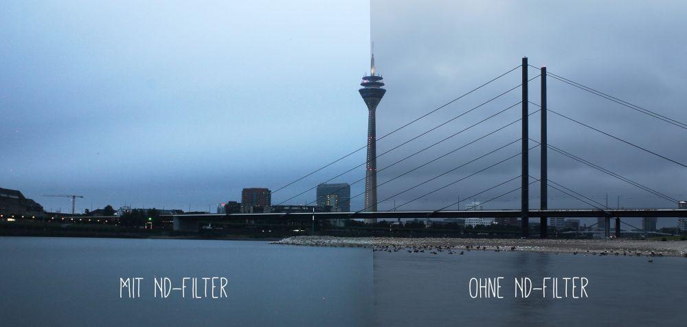 Rhein mit ND Filter