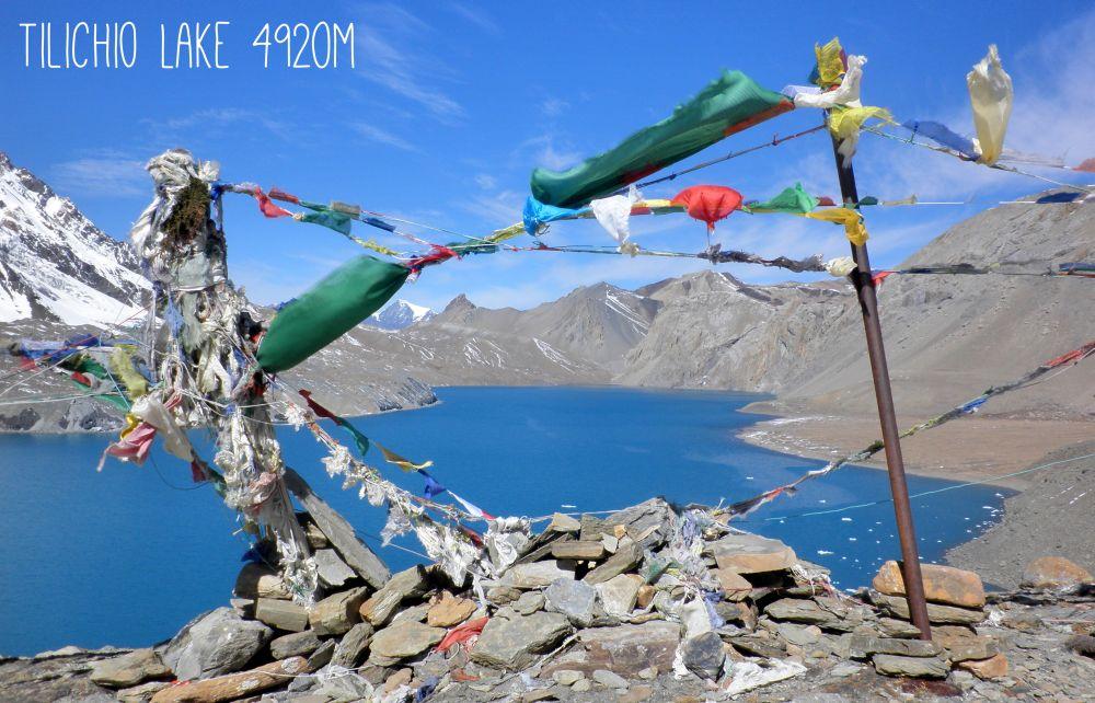 Tilichio Lake in Nepal