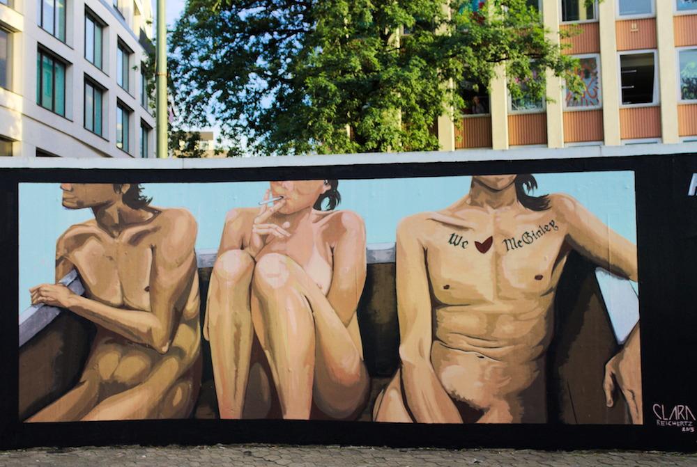 Urban Art Gemälde von Frauen