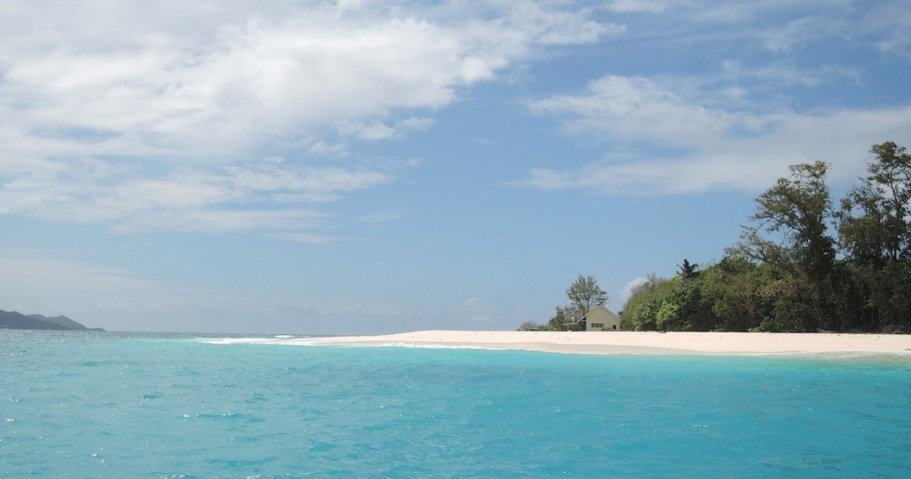 Insel der Seychellen