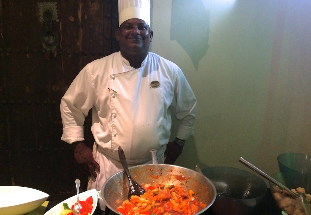Koch auf Mauritius