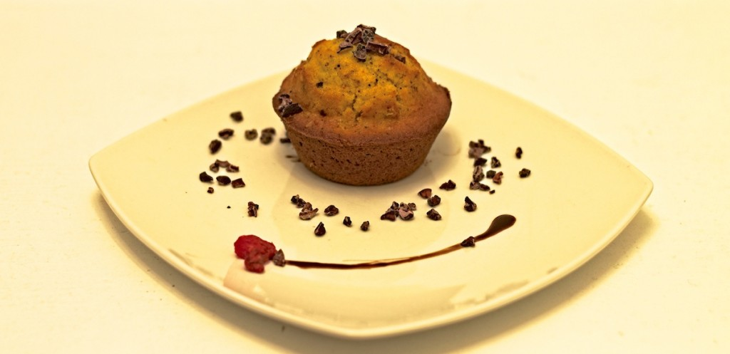 Kürbis-Nuss-Muffin