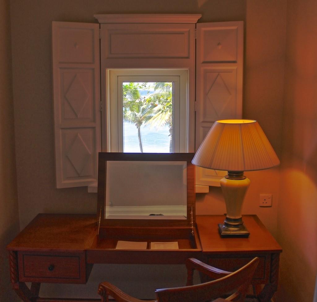 Schreibtisch mit Aussicht