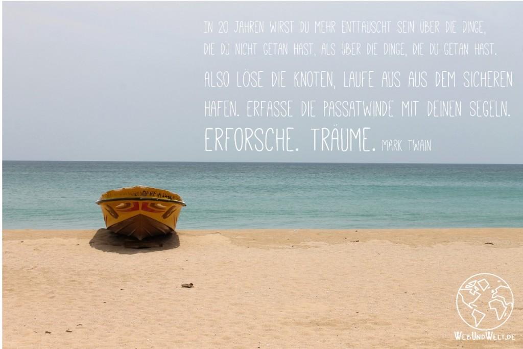 Boot am Strand, neues wagen
