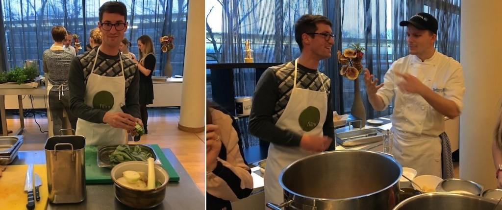 Der Mann mit dem Koch