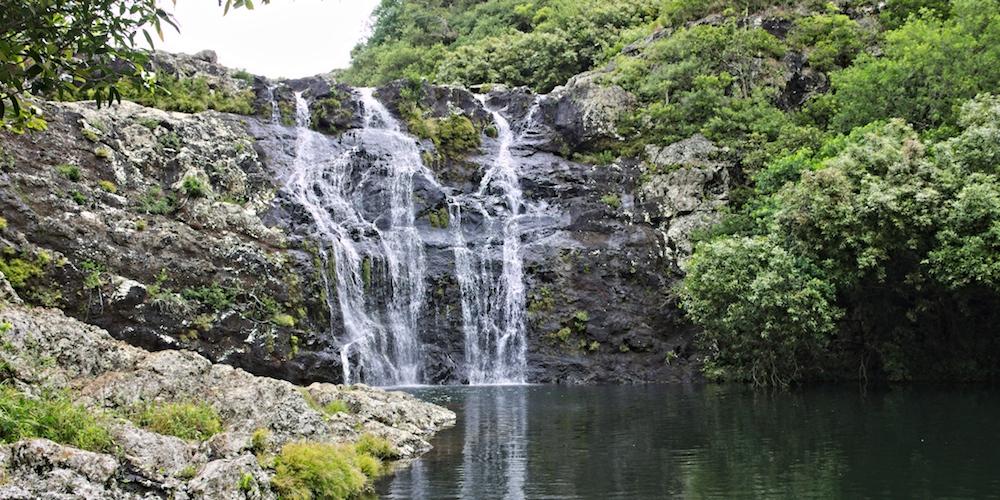 Tamarin Falls auf Mauritius | Wandern entlang der 7 Wasserfälle