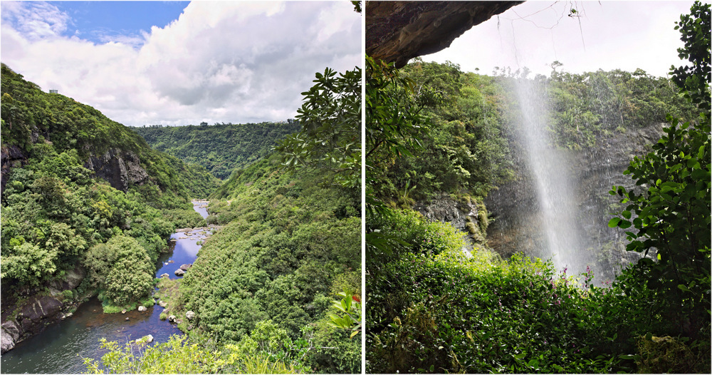 Wasserfälle auf Mauritius