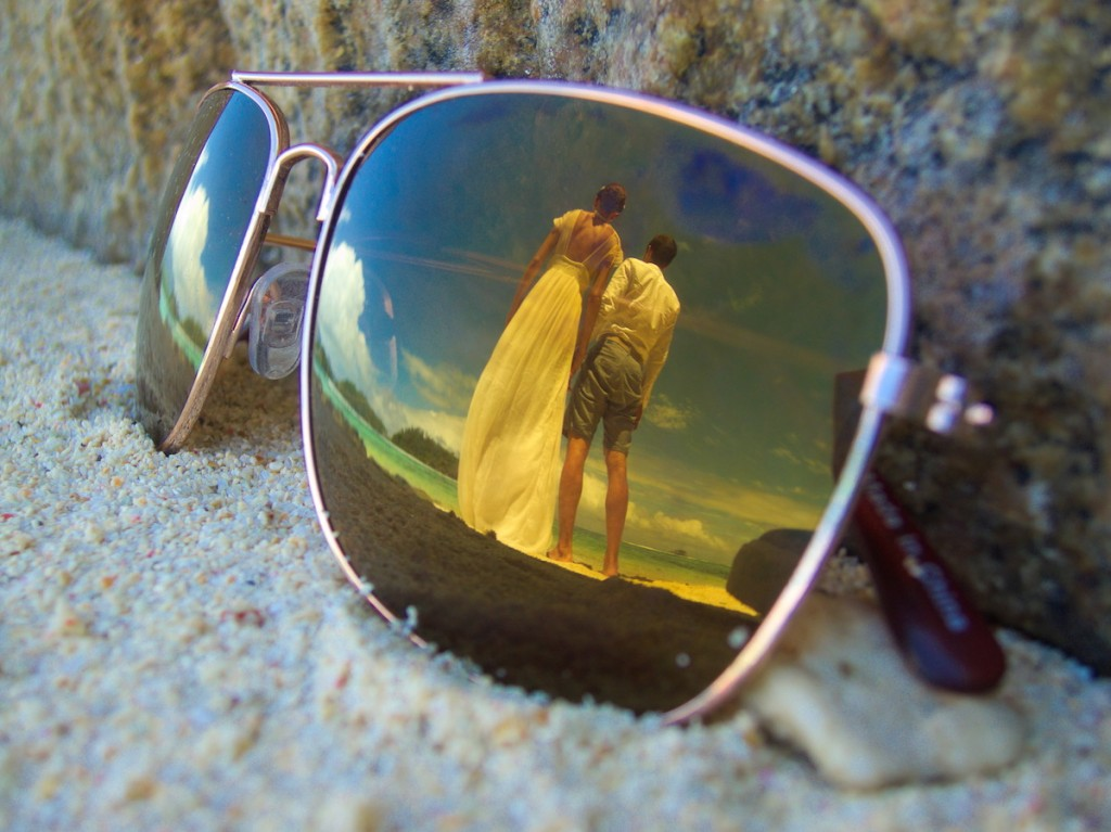 Beach Wedding Essential Sonnenbrille