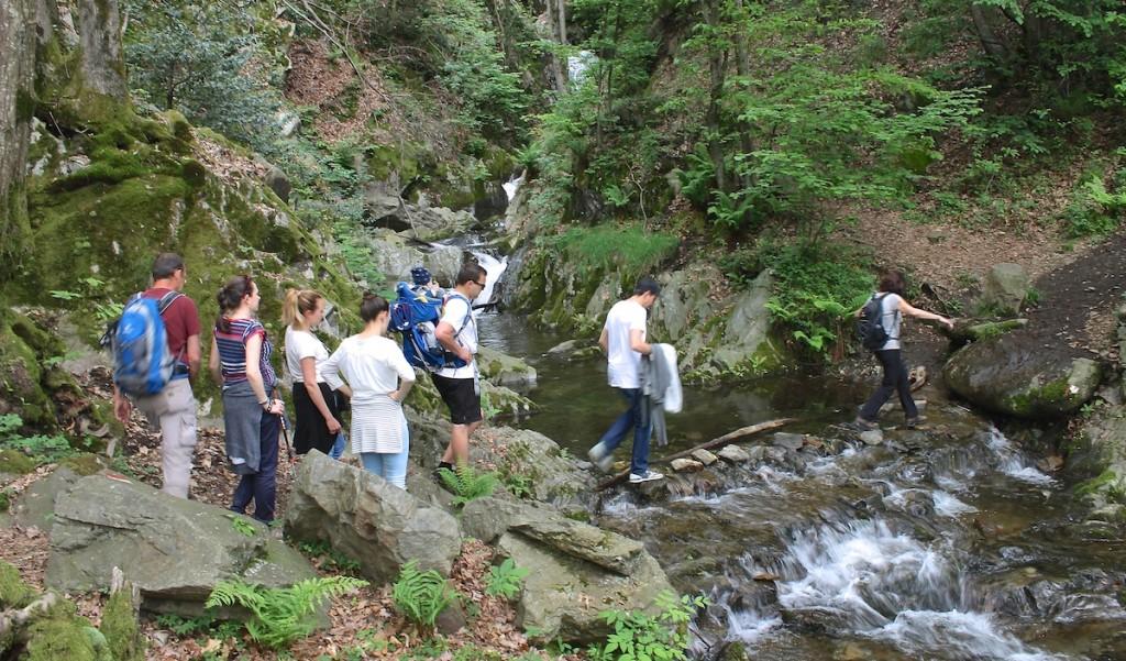 Wanderung beim Familienurlaub am Lago Maggiore