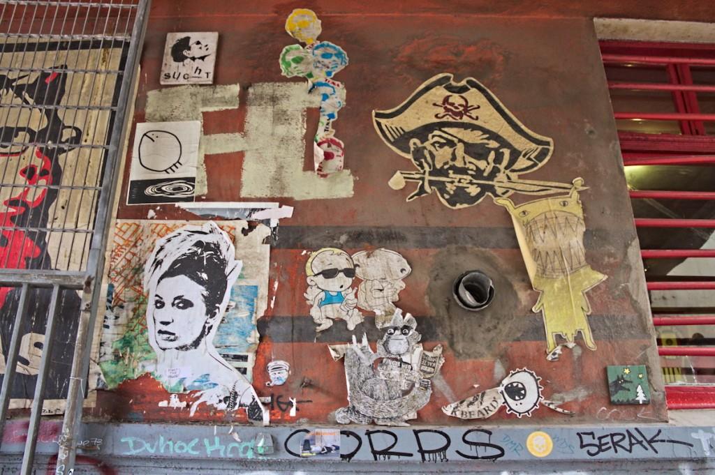 Kunst an Häusern in Hamburg
