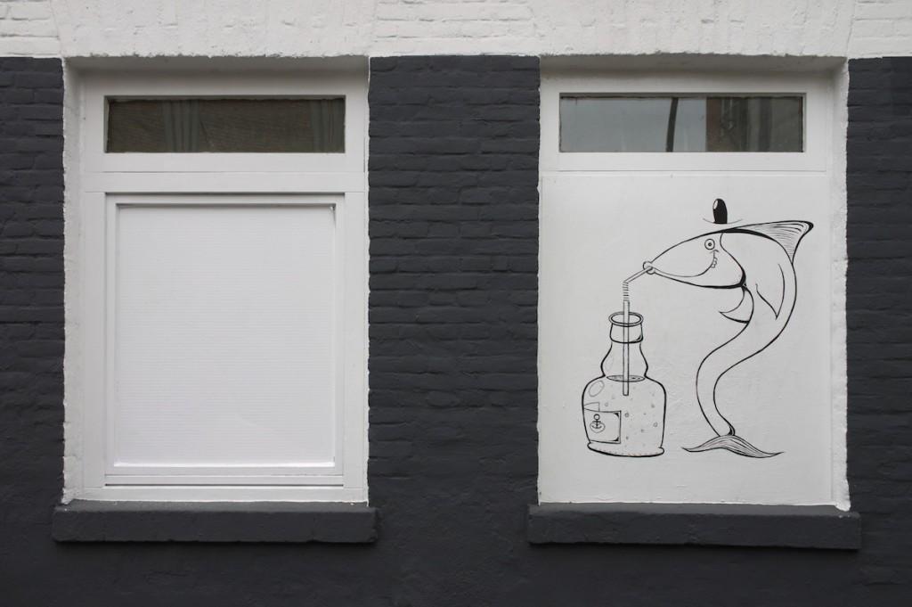 Straßenkunst in St. Pauli