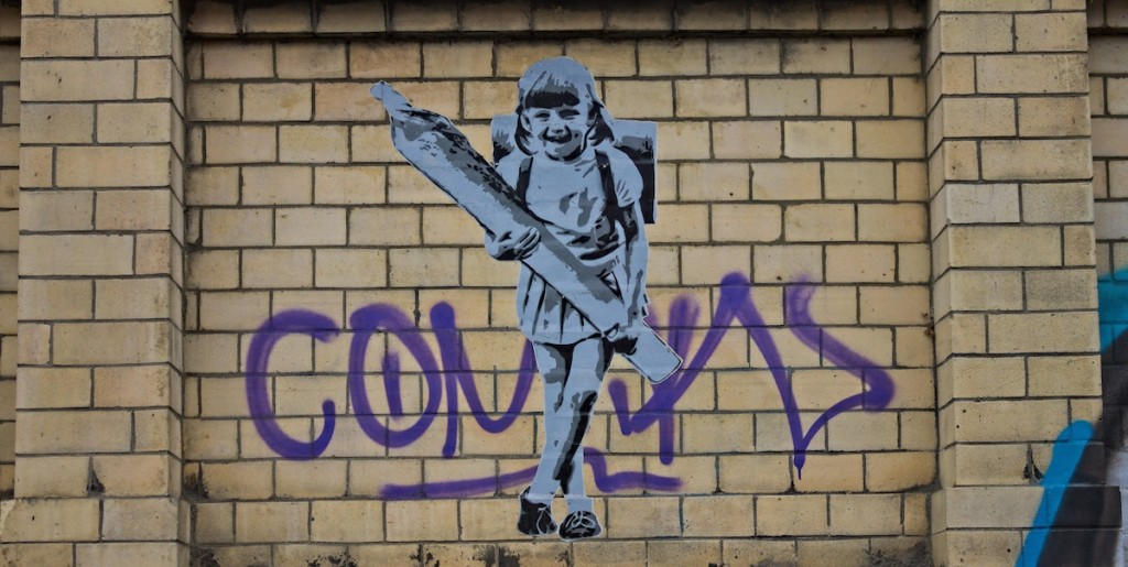 Straßenkunst in Hamburg