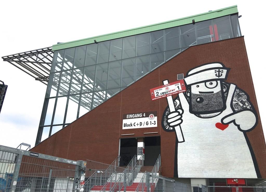 Street Art am Millerntor Stadion