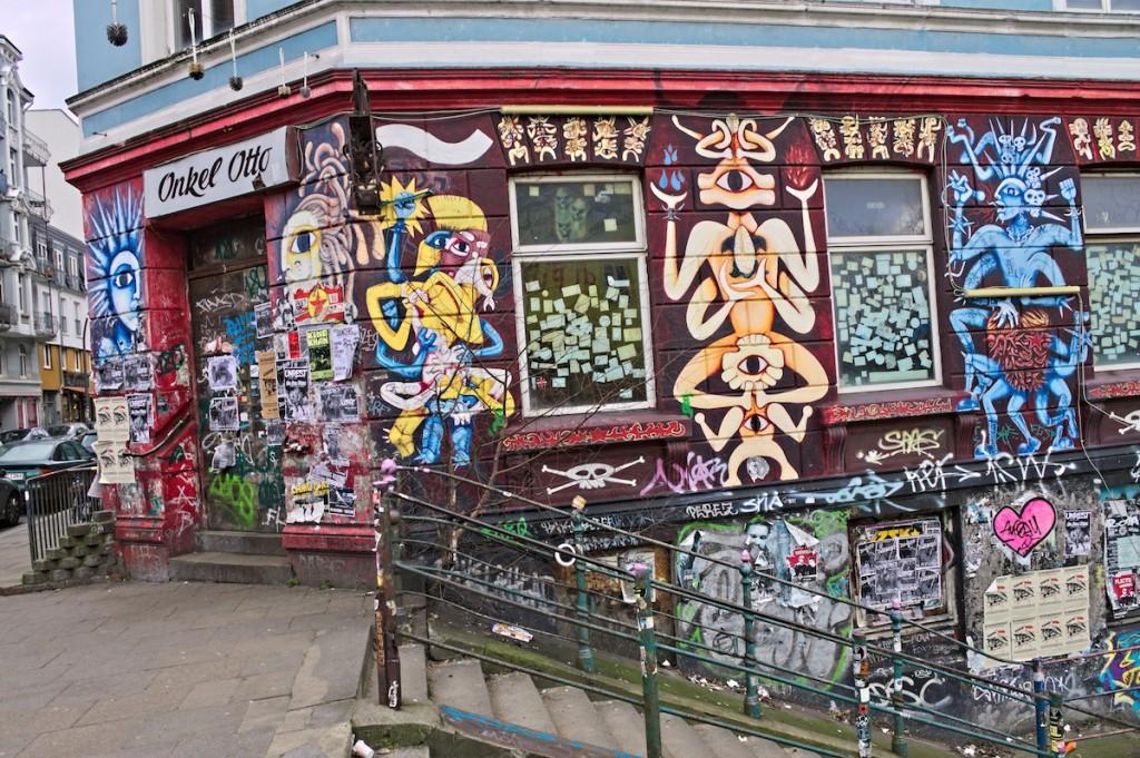 Street Art an Hauswand