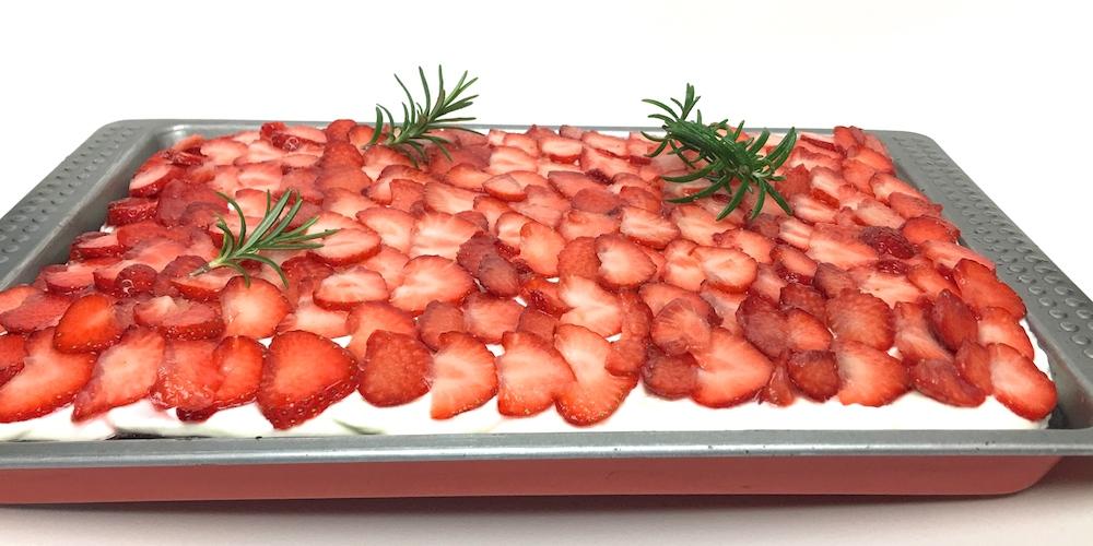 Erdbeer-Brownies | Rezept