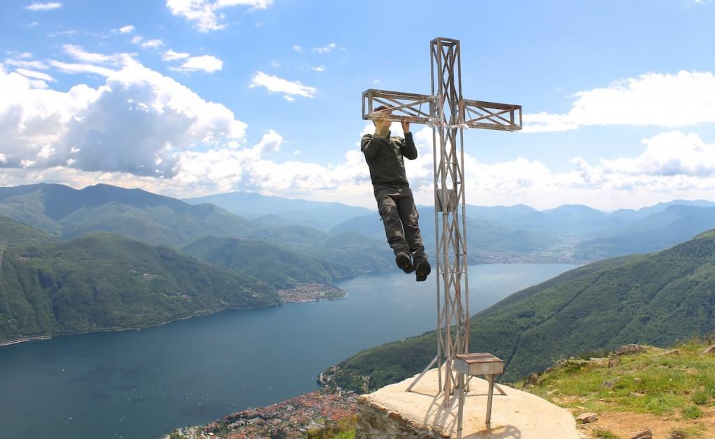 Gipfelkreuz auf dem Monte Giove