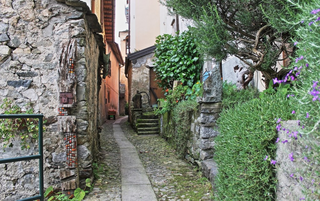 Gasse in Ronco