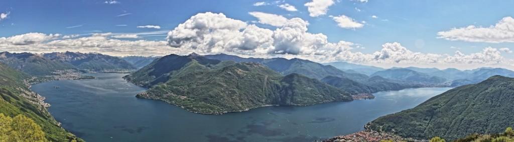 Blick vom Monte Giove