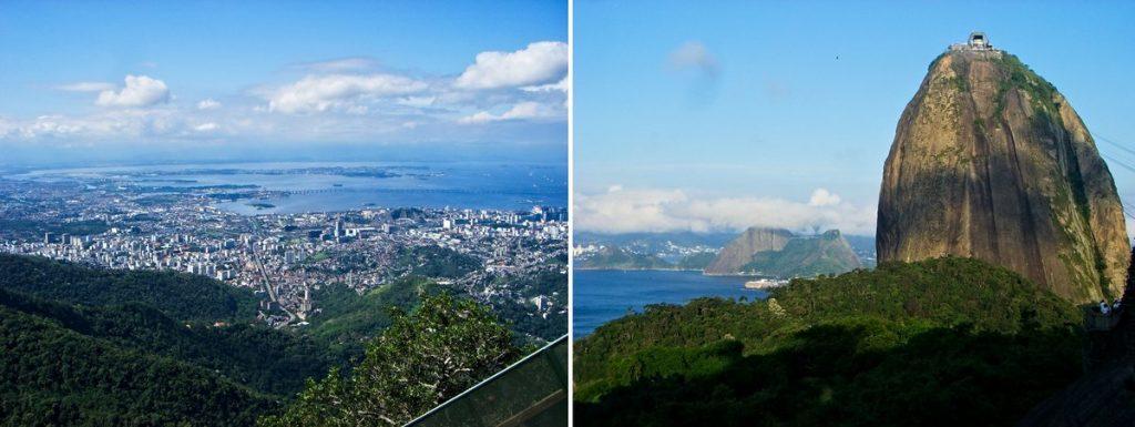 Blick über Rio